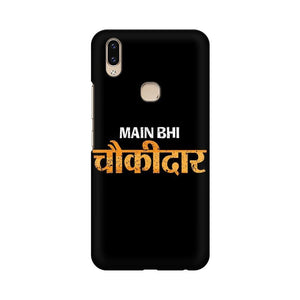 Main Bhi Chowkidar Multicolour Case For Vivo V9