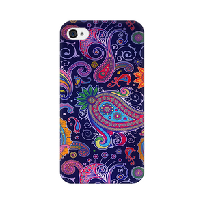 Paisleys Multicolour Case For Apple iPhone 4s