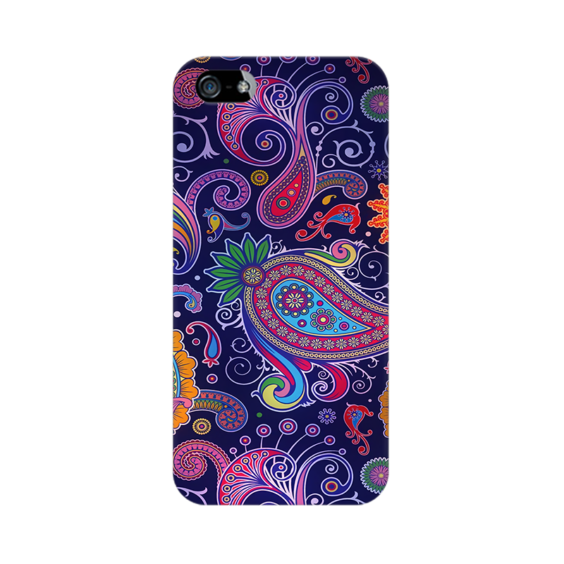 Paisleys Multicolour Case For Apple iPhone 5s
