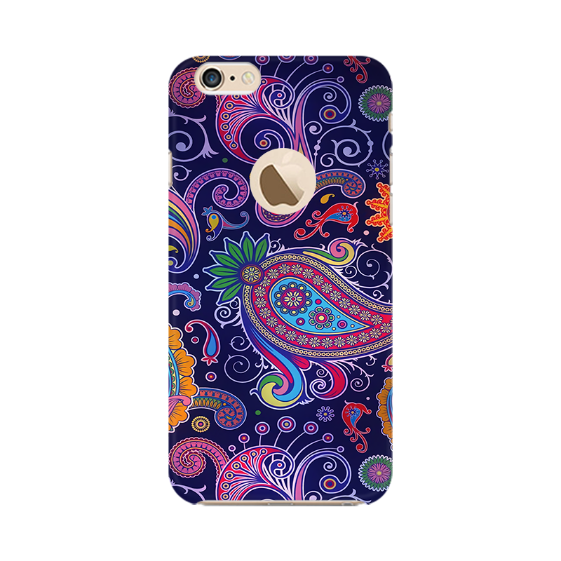 Paisleys Multicolour Case For Apple iPhone 6 with Apple hole