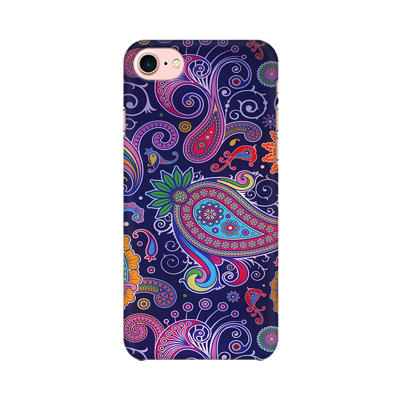 Paisleys Multicolour Case For Apple iPhone 8