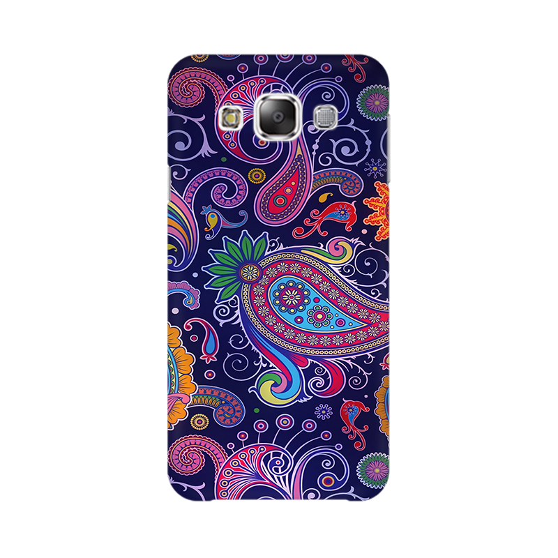 Paisleys Multicolour Case For  Samsung E5