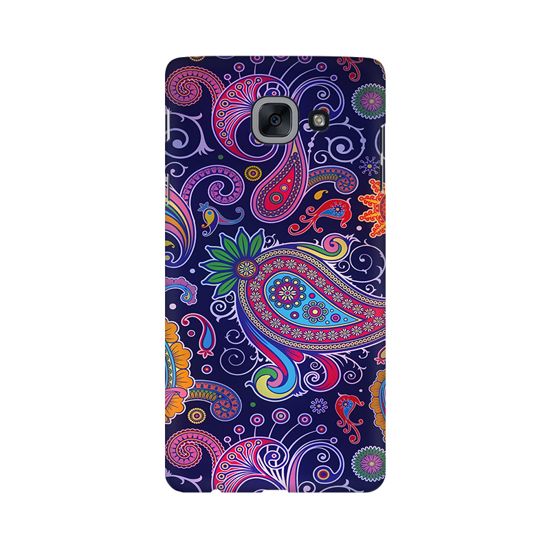 Paisleys Multicolour Case For  Samsung J7 Max