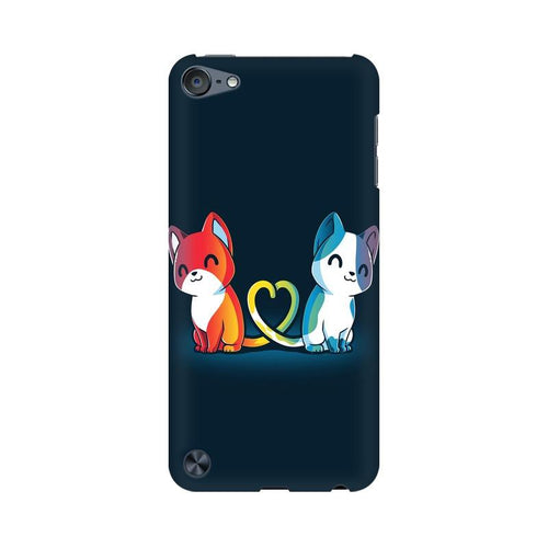 Purrfect Match Multicolour Phone Case For Apple iPod Touch 5