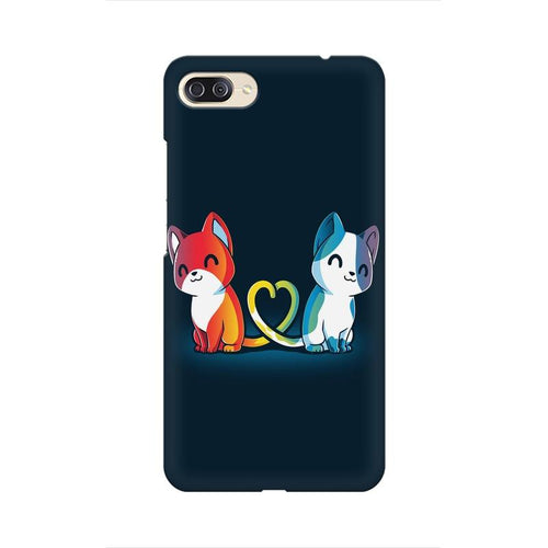 Purrfect Match Multicolour Phone Case For Asus Zenfone 4 Max ZC554KL