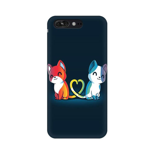 Purrfect Match Multicolour Phone Case For Asus Zenfone 4 Pro ZS551KL