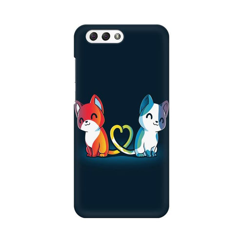 Purrfect Match Multicolour Phone Case For Asus Zenfone 4 ZE554KL