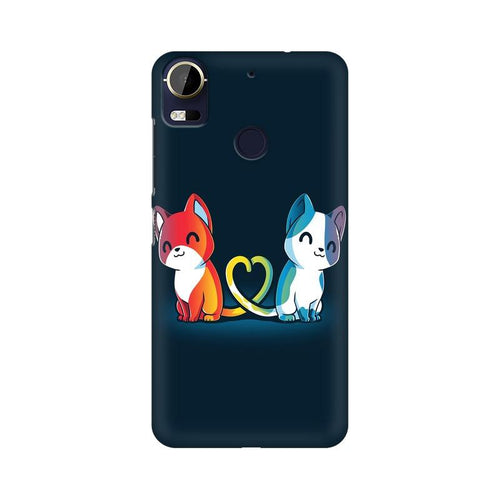 Purrfect Match Multicolour Phone Case For  HTC 10 Pro