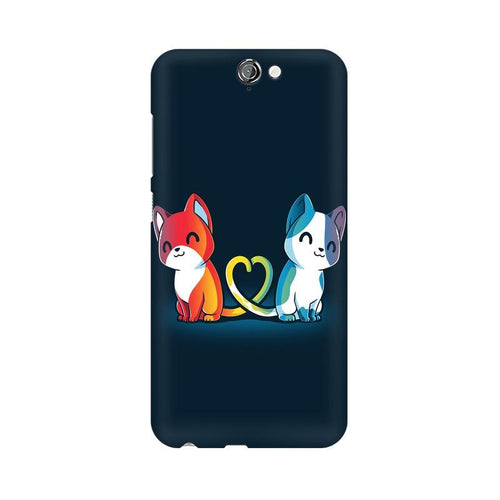 Purrfect Match Multicolour Phone Case For HTC One A9
