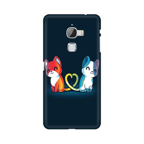 Purrfect Match Multicolour Phone Case For LeEco Le Max