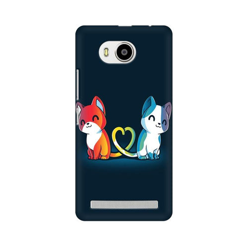 Purrfect Match Multicolour Phone Case For Lenovo A7700
