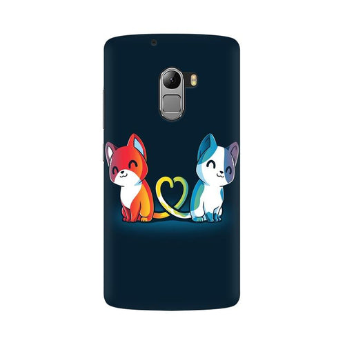 Purrfect Match Multicolour Phone Case For Lenovo Vibe K4 Note