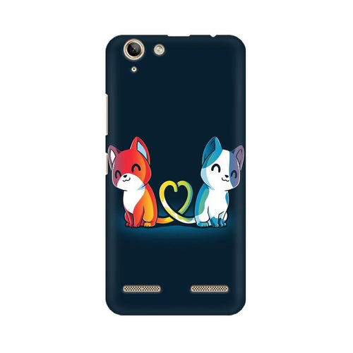 Purrfect Match Multicolour Phone Case For Lenovo Vibe K5