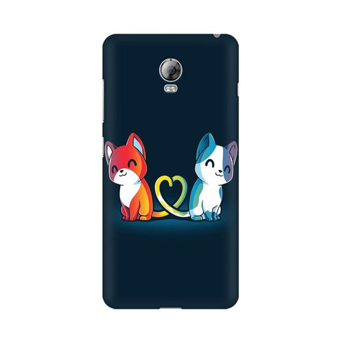 Purrfect Match Multicolour Phone Case For Lenovo Vibe P1