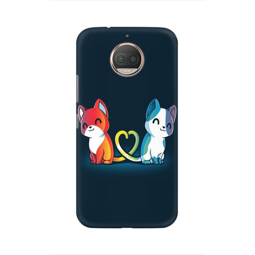 Purrfect Match Multicolour Phone Case For Moto G5s