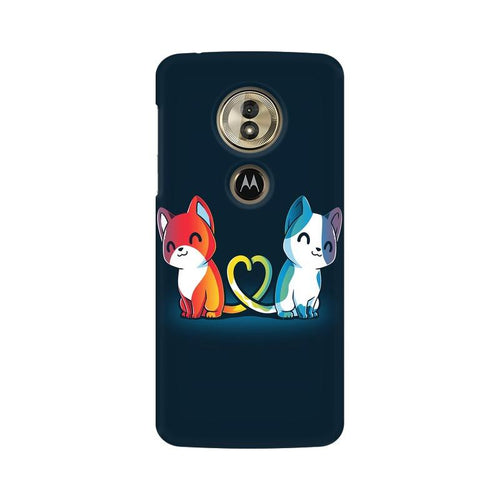 Purrfect Match Multicolour Phone Case For Moto G6 Play