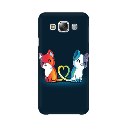Purrfect Match Multicolour Case For  Samsung Grand 3 G7200
