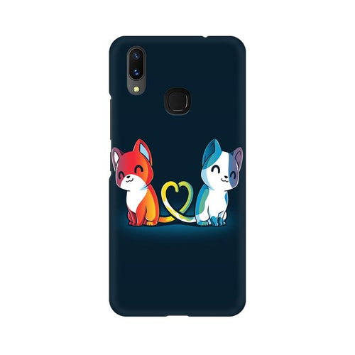 Purrfect Match Multicolour Case For Vivo X21