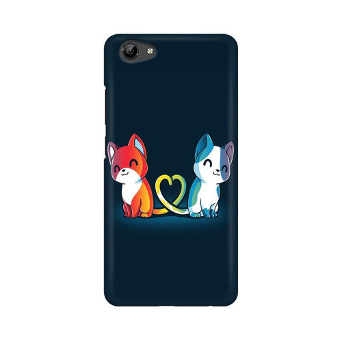 Purrfect Match Multicolour Case For Vivo Y71