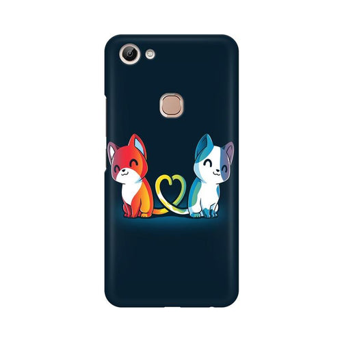 Purrfect Match Multicolour Case For Vivo Y83