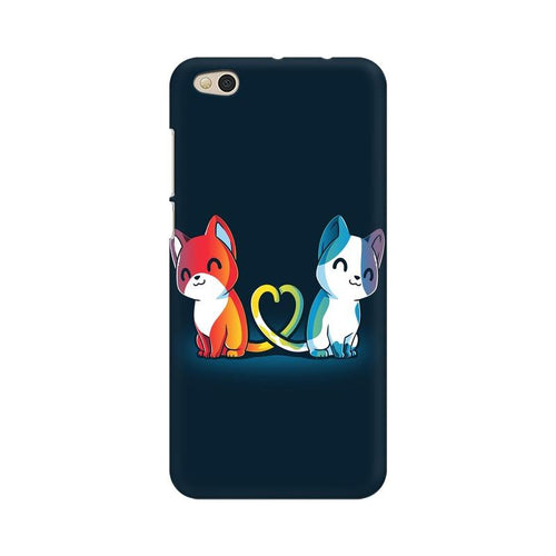 Purrfect Match Multicolour Case For  Xiaomi Mi 5C