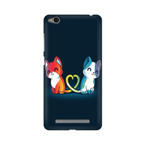 Purrfect Match Multicolour Case For Xiaomi Redmi 3s