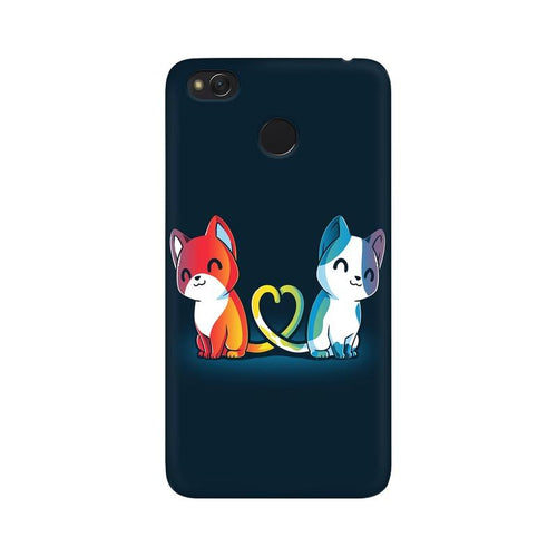 Purrfect Match Multicolour Case For  Xiaomi Redmi 4