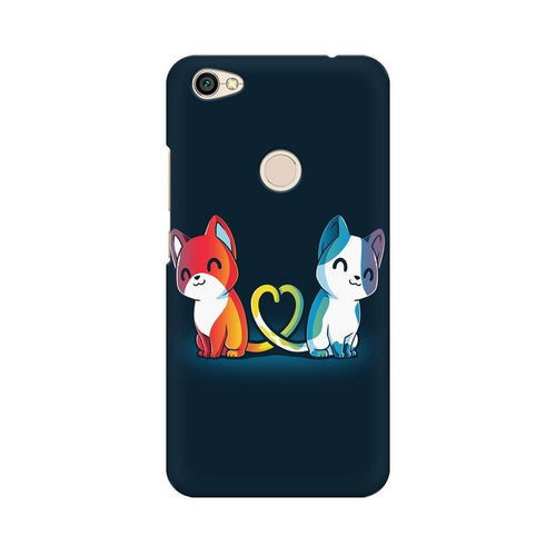 Purrfect Match Multicolour Case For Xiaomi Redmi Y1