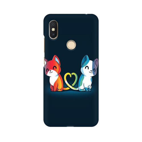 Purrfect Match Multicolour Case For Xiaomi Redmi Y2