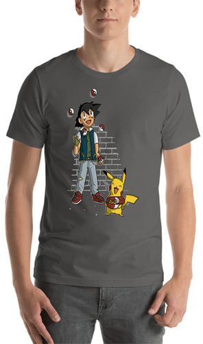 Juggling Pokeballs T-Shirt