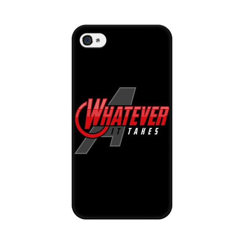 Whatever It Takes Multicolour Phone Case For Apple iPhone 4s