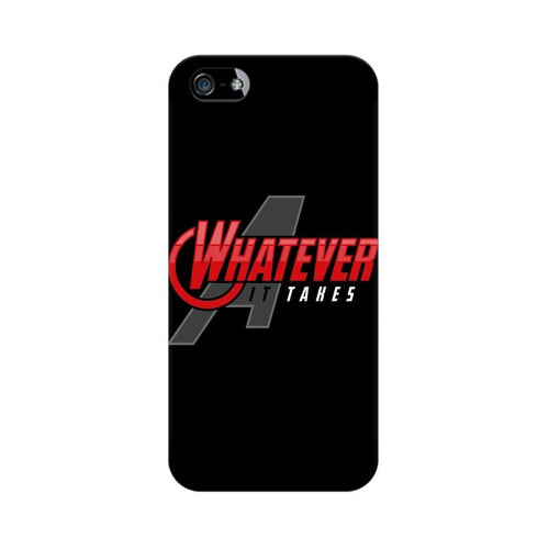 Whatever It Takes Multicolour Phone Case For Apple iPhone 5