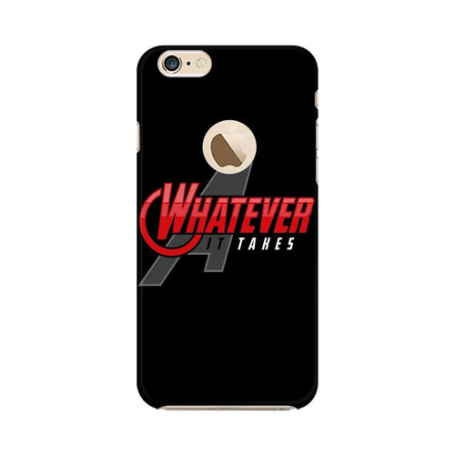 Whatever It Takes Multicolour Phone Case For Apple iPhone 6s with Apple hole