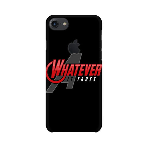 Whatever It Takes Multicolour Phone Case For Apple iPhone 7 with Apple cut