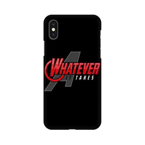Whatever It Takes Multicolour Phone Case For Apple iPhone XS