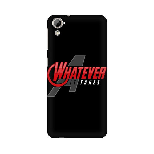 Whatever It Takes Multicolour Phone Case For HTC Desire 820