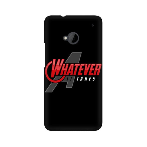 Whatever It Takes Multicolour Phone Case For HTC One M7