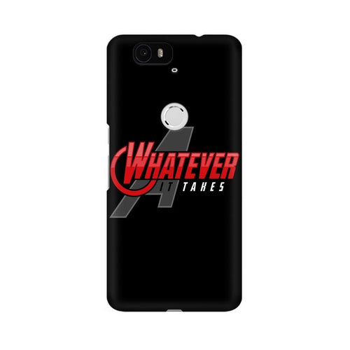 Whatever It Takes Multicolour Phone Case For Huawei Nexus 6P