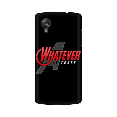 Whatever It Takes Multicolour Phone Case For LG Nexus 5