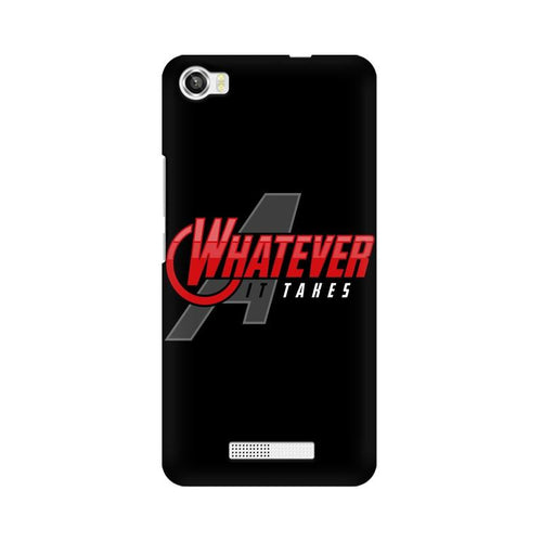 Whatever It Takes Multicolour Phone Case For Lava Iris X8