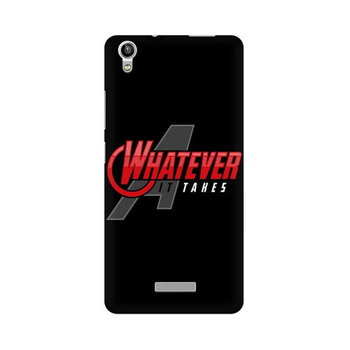 Whatever It Takes Multicolour Phone Case For Lava Pixel V1