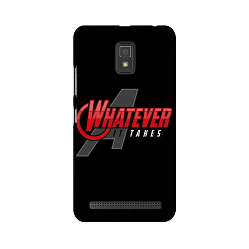 Whatever It Takes Multicolour Phone Case For Lenovo A6600