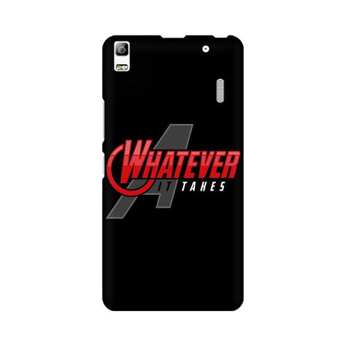 Whatever It Takes Multicolour Phone Case For Lenovo A7000