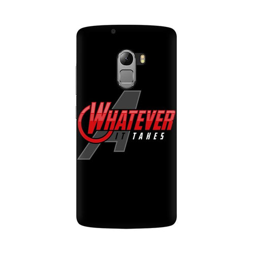 Whatever It Takes Multicolour Phone Case For Lenovo Vibe K4 Note