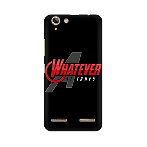 Whatever It Takes Multicolour Phone Case For Lenovo Vibe K5