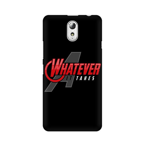 Whatever It Takes Multicolour Phone Case For Lenovo Vibe P1M