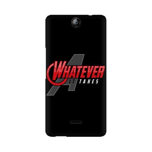 Whatever It Takes Multicolour Phone Case For Micromax Canvas Juice 3 Q392