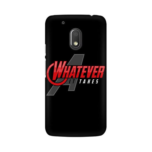 Whatever It Takes Multicolour Phone Case For Moto G4 Play