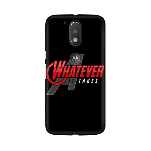 Whatever It Takes Multicolour Phone Case For Moto G4 Plus