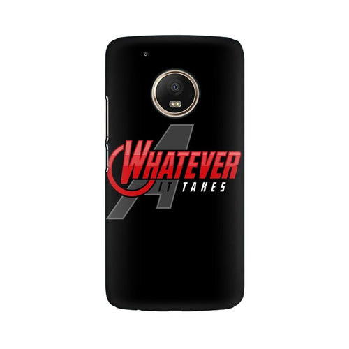 Whatever It Takes Multicolour Phone Case For Moto G5 Plus